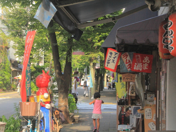 The Fukagawa old downtown atmosphere