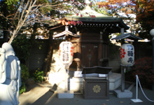 Shingyoji Temple [the God of Wealth and Longevity]
