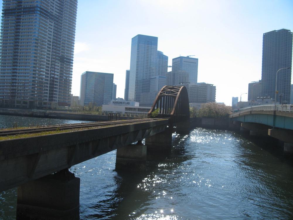 Harumi bridge
