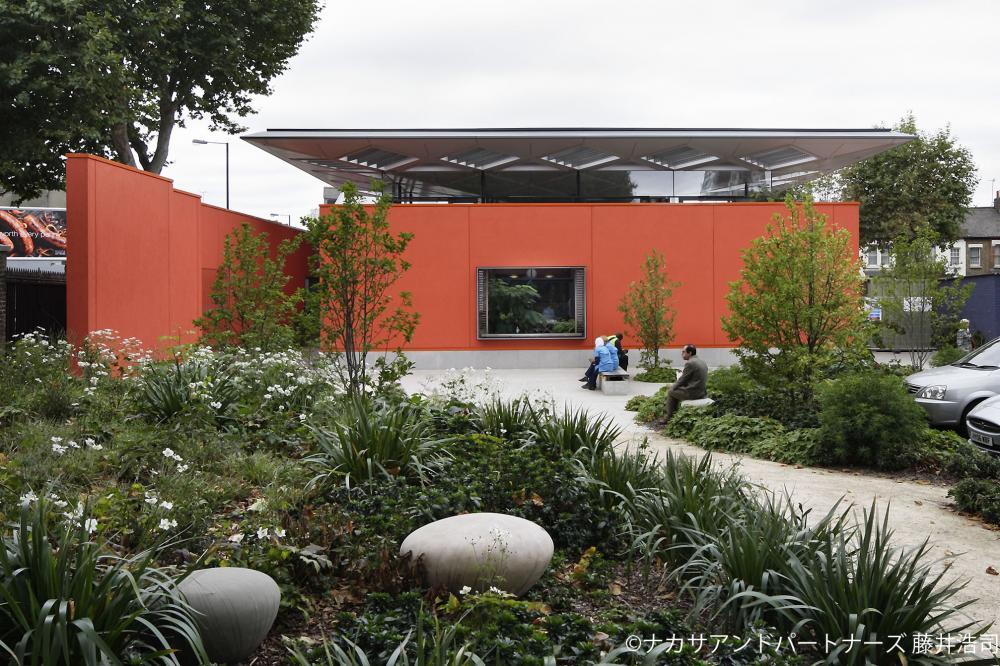 마기즈 센터의 건축과 뜰<br> 본래의 자신을 되찾는 있을 곳
