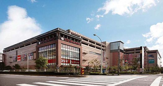 SUNAMO Minamisunamachi Shopping center
