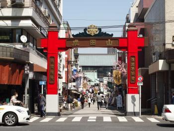 닌조후카가와 고리야쿠도리 길