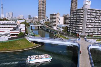 小名木川幸運草橋