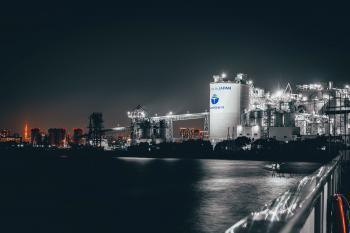 Wakasu cement factory