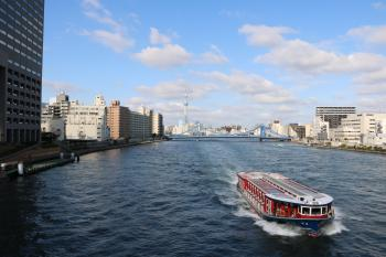 The Sumida River (Kiyosubashi Bridge)