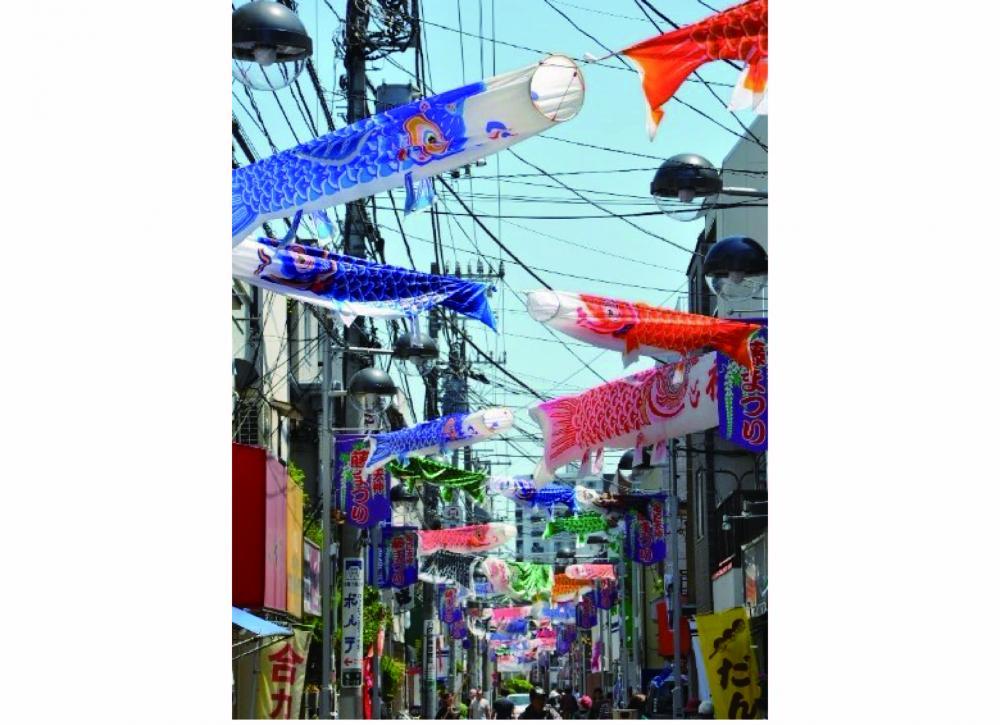 Kameido Gochome Chuodori Shopping Street