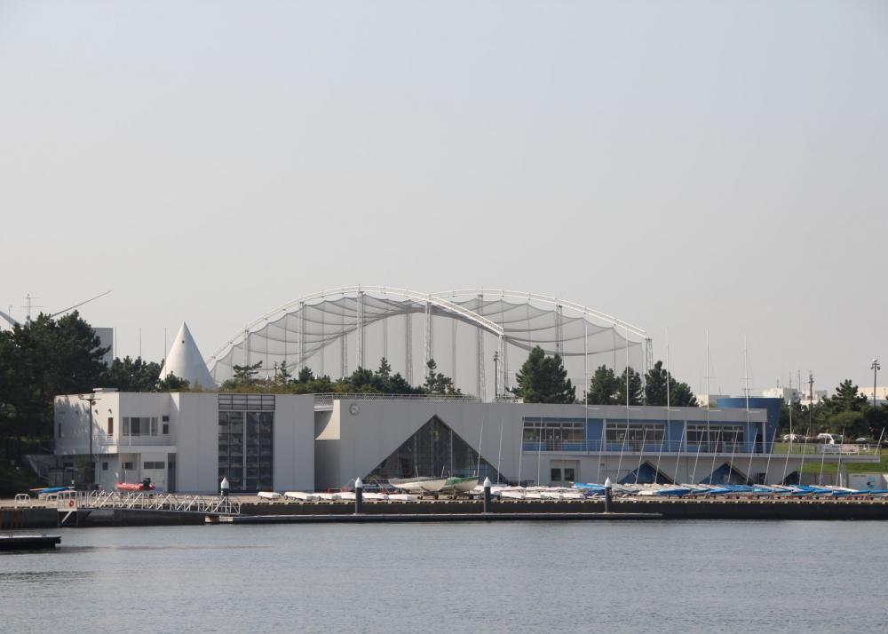 Wakasu Seaside Park Yacht Training Area
