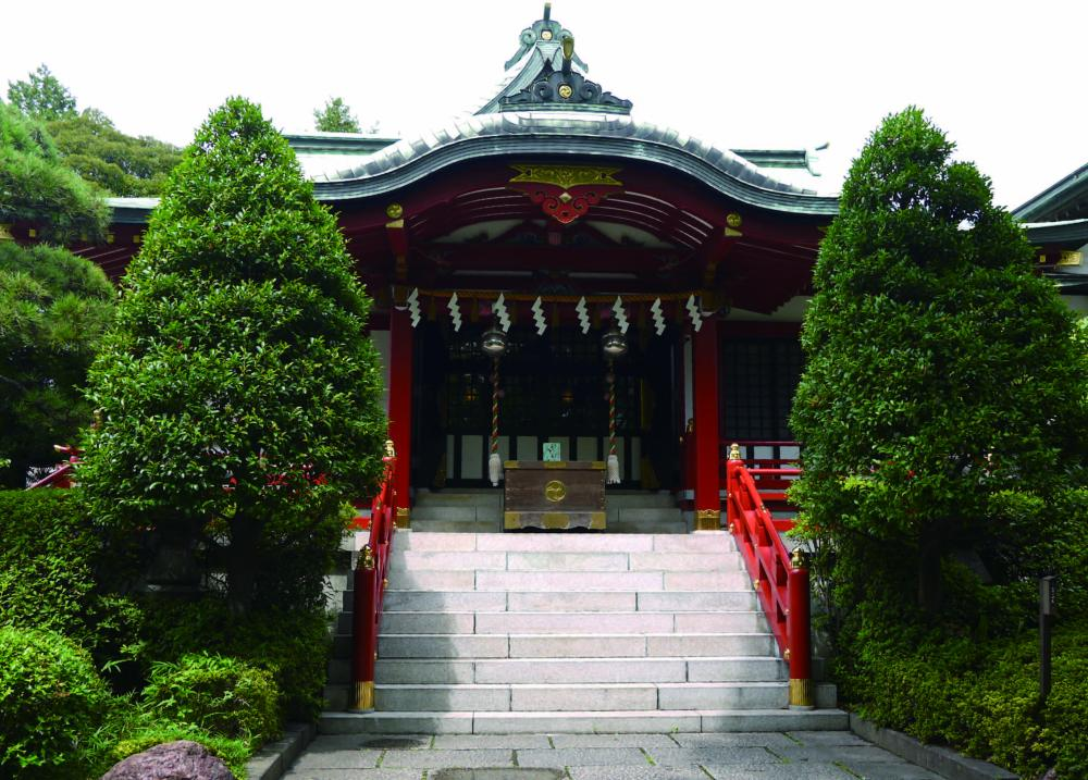 Higashi ojima jinja Shrine