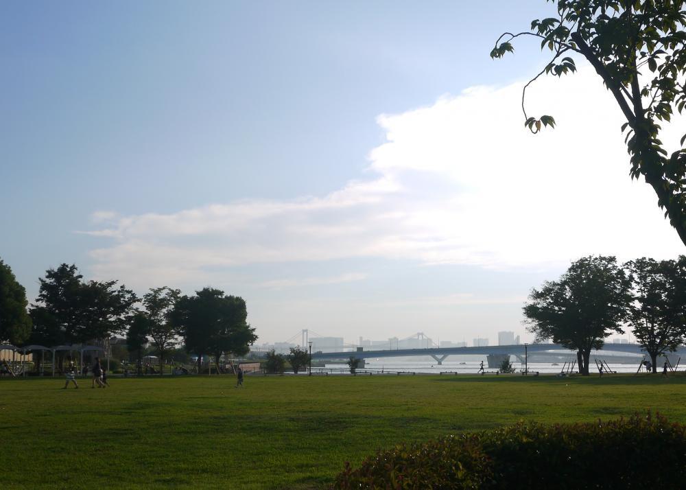 Toyosu Park, Harumibashi Park