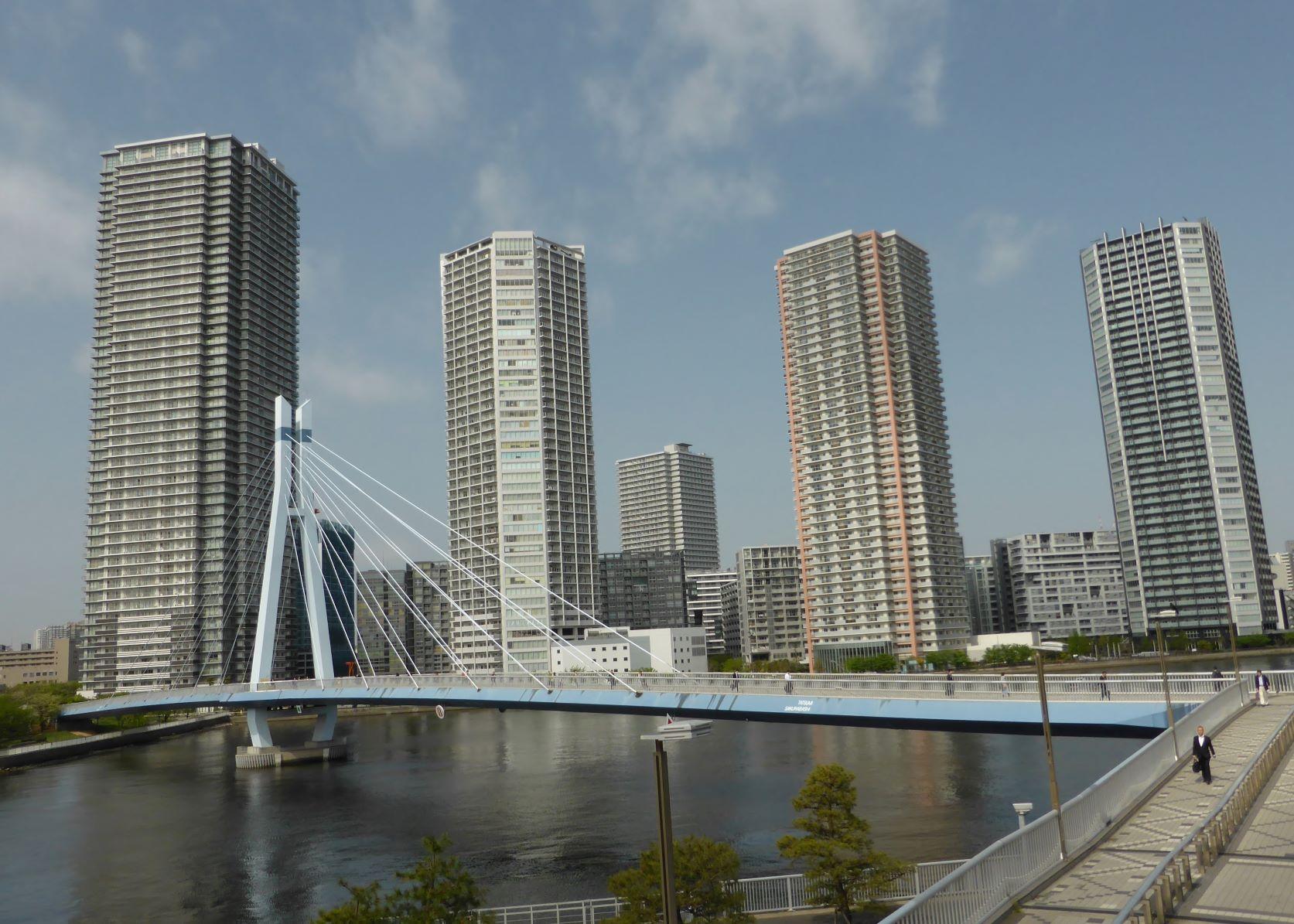 Rinkai Area — Around Tatsumi Station